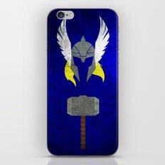 God of Thunder iPhone & iPod Skin