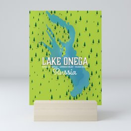 Lake Onega, russia Mini Art Print