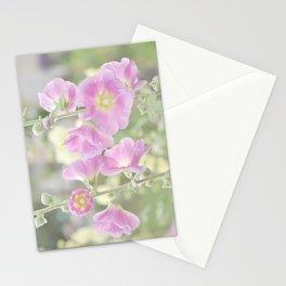 Hollyhocks Stationery Cards