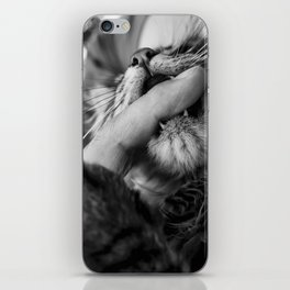 your finger is mine iPhone Skin