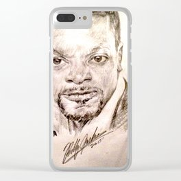 CHRIS TUCKER Clear iPhone Case