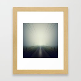 Mirror Framed Art Print