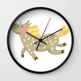 Cute Horses Wall Clock