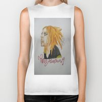 tim shumate Biker Tanks featuring Tim Minchin. by TheArtOfFaithAsylum