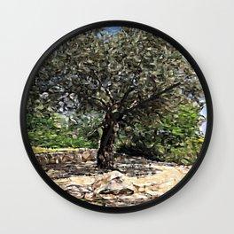 Tree of Geometry Wall Clock