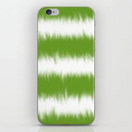 Green Tie Dye iPhone & iPod Skin
