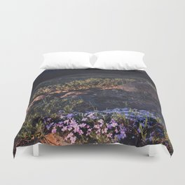 Wildflowers at Dawn Duvet Cover
