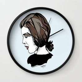 Delia Derbyshire Composer Cambridge Oxford England UK Wall Art Artist Musician Electronic  Wall Clock