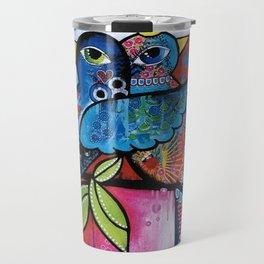 care birds Travel Mug