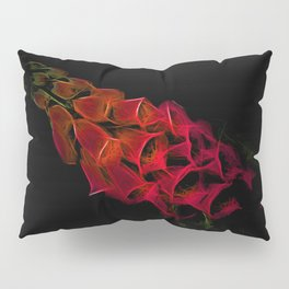 Fantastical Phosphorescent Foxglove Pillow Sham