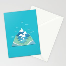 Seven Summits Stationery Cards