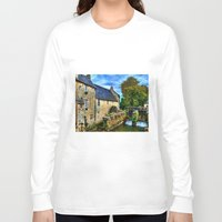 postcard Long Sleeve T-shirts featuring French Postcard by Exquisite Photography by Lanis Rossi