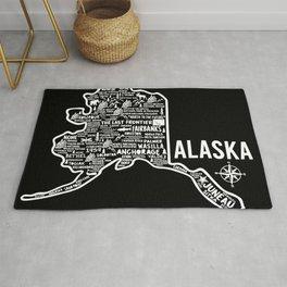 Alaska Map Rug