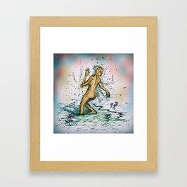 Join Her Framed Art Print