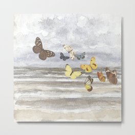 Butterfly escape Metal Print