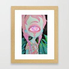Postcard from Venus Framed Art Print