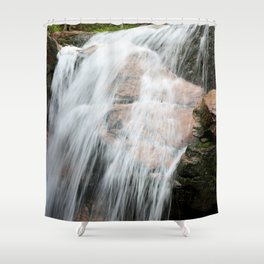 The Flume Gorge Shower Curtain