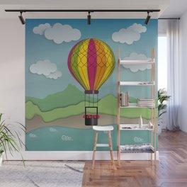 Balloon Aeronautics Sea & Sky Wall Mural