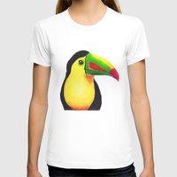 toucan T-shirts featuring Toucan by Jen Eva