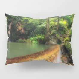 Thermal pool in Azores Pillow Sham