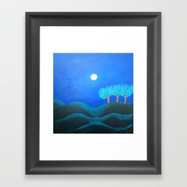 Peaceful Night Framed Art Print