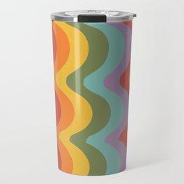 Rainbow Stripes 2 Travel Mug