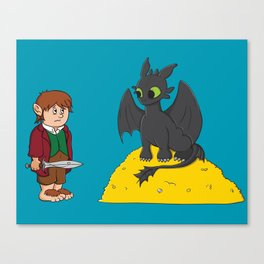 How to Train Your Hobbit Canvas Print