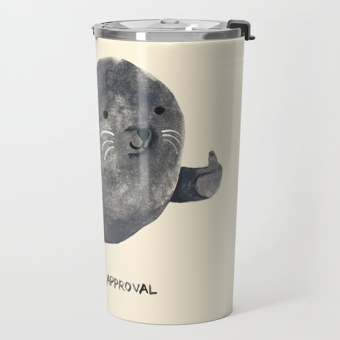 Seal Of Approval Travel Mug