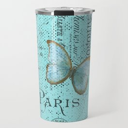 Paris - my blue love Travel Mug