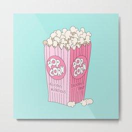 Popcorn Metal Print