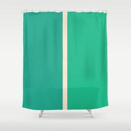 Half a Jade Shower Curtain