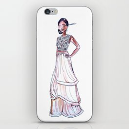Prom Dress Continued iPhone Skin