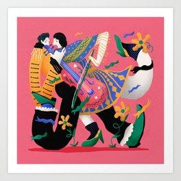 Mariachi Love 3 Art Print