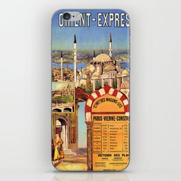 Vintage poster - Orient Express iPhone Skin