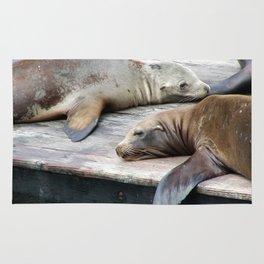 Sea Lions Rug
