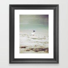 I'll see you.. Framed Art Print