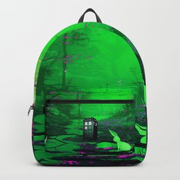 Tardis Stay Lost In The Forest Backpack