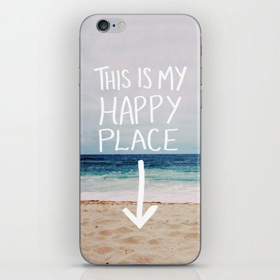 My Happy Place (Beach) iPhone & iPod Skin