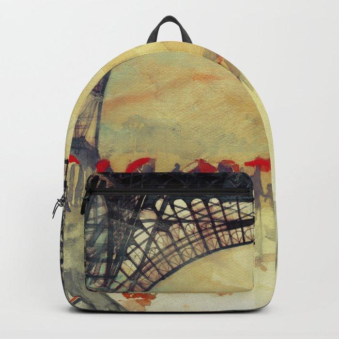 Winter in Paris Backpack