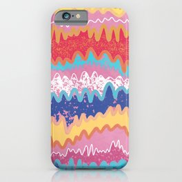 lava mountains iPhone Case