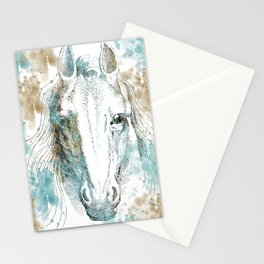 Watercolor Horse Stationery Cards