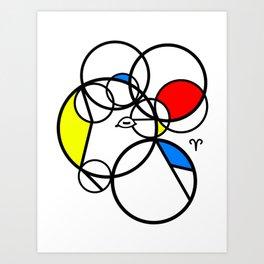 The Ram of Aries Art Print
