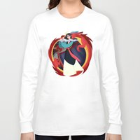 mulan Long Sleeve T-shirts featuring Mulan by Karrashi