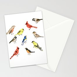 North American Birds Watercolour Illustration Stationery Cards
