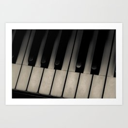 The Ivories Art Print