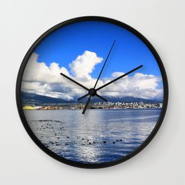 North Vancouver Wall Clock