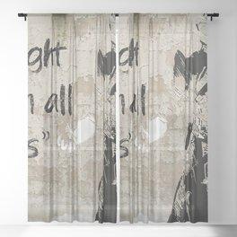 the light Sheer Curtain
