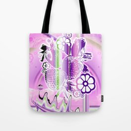 Psychedelic Paradise Tote Bag