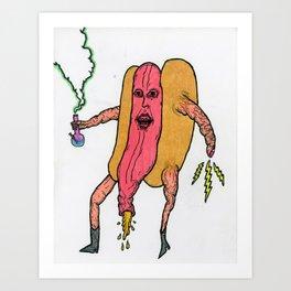 Frankfurter Kush Art Print