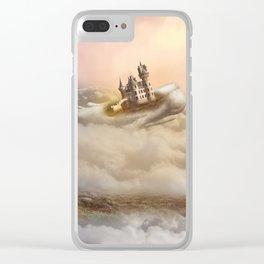 Lost in a Wonderful Dream (Girl, Wale, Castle) Clear iPhone Case